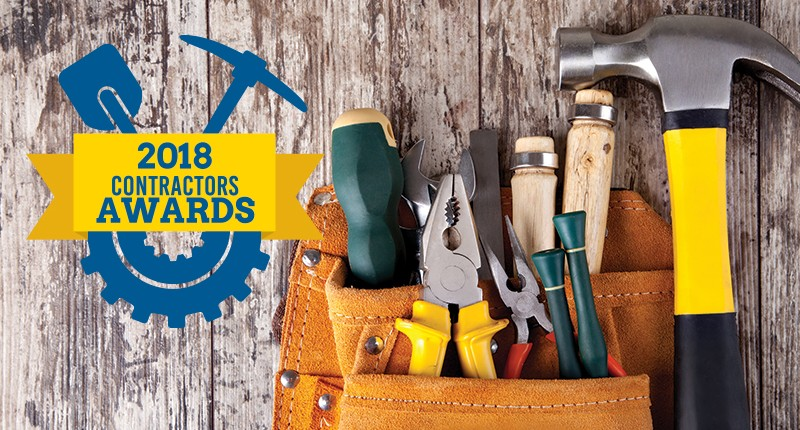 Welcome to our 2018 Contractors Awards!
